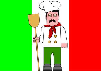 Italien drapeau