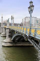 Le Fragnee bridge  Liege Belgium