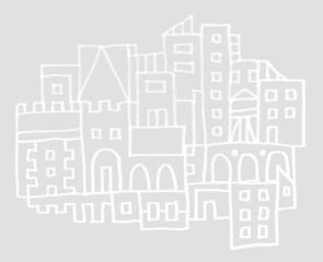 Skizze: Stadt
