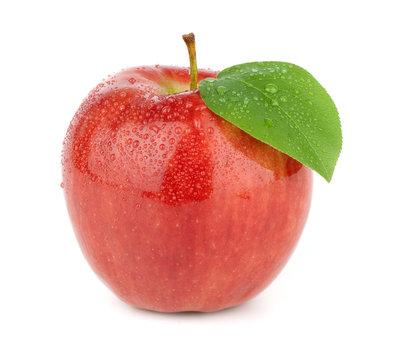 Ripe red apple