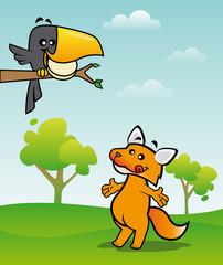 corbeau et le renard
