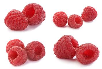 raspberry, set of full-size images