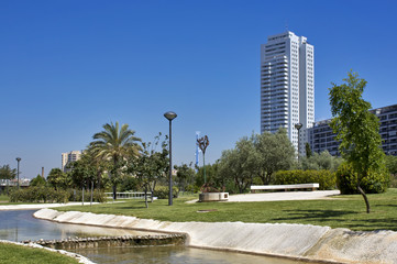 Cauce nuevo del rio turia - Valencia