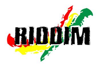 Reggae Symbol - Rasta Riddim