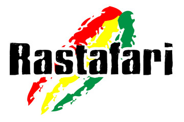 Rastafari Flag - red yellow green