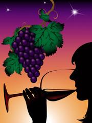 Wein am Abend