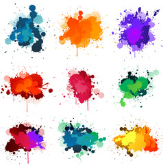 Stores photo Forme Paint splat