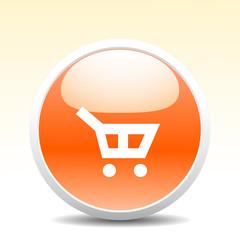 Modern shopping button