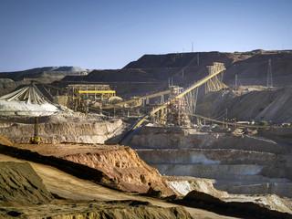 minas de cobre