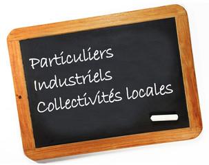 particuliers, industriels, collectivités locales