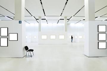 Many empty frames hall