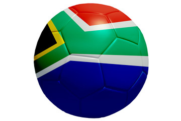 Ball Pattern African Flag