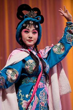 china opera Actress pretty girl