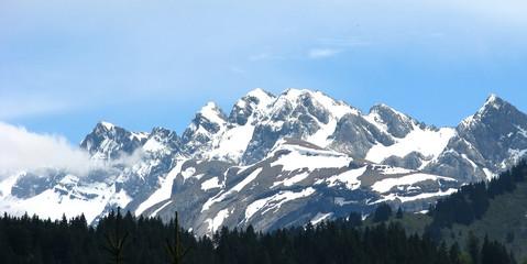 Chaîne du Mont Blanc - détail