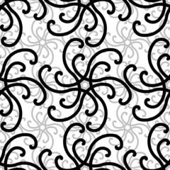 Seamless ornament swirl pattern