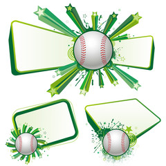 baseball design element