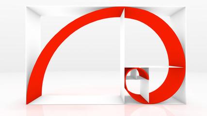 Fibonacci chain 3D Fred