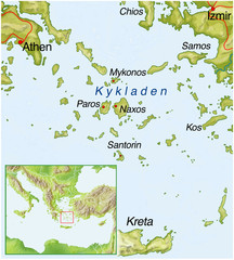 Mykonos Map Photos Royalty Free Images Graphics Vectors