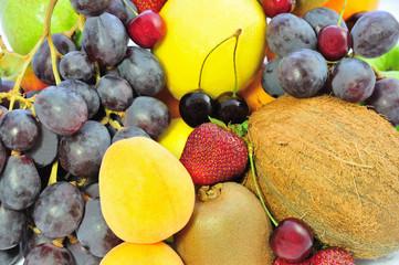 background of fruit