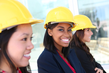 Woman Construction Team