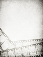Great vintage filmstrips background - with space for your text a