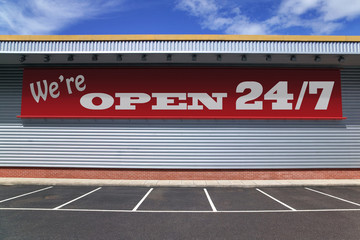 Were open 24 7