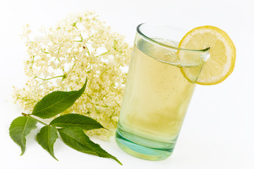 elderberry flower drink