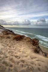 dunes on the ocean