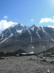 Trekking in Spiti valley Himalayan mountains, Northern India