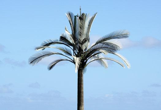 palmier camouflage antenne relais