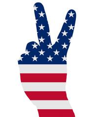 Amerikanisches Handzeichen
