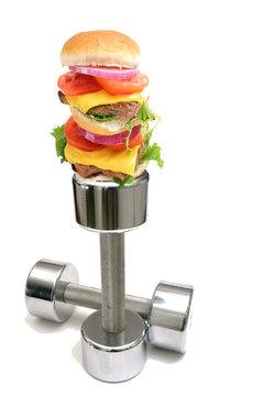 burger workout