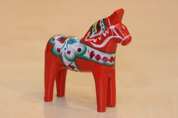 Dalapferd aus Schweden