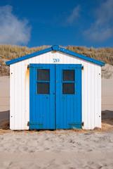 Strandhütte auf Texel