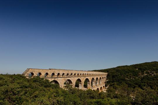 Le Pont du Gard, Aqueduc Romain