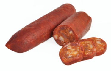 Chorizo rojo.