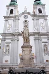 Вена. Памятник Гайдну.