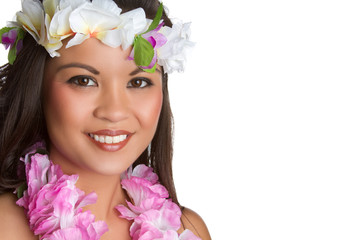 Hawaiian Tropical Woman