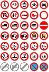 Verbote im Straßenverkehr