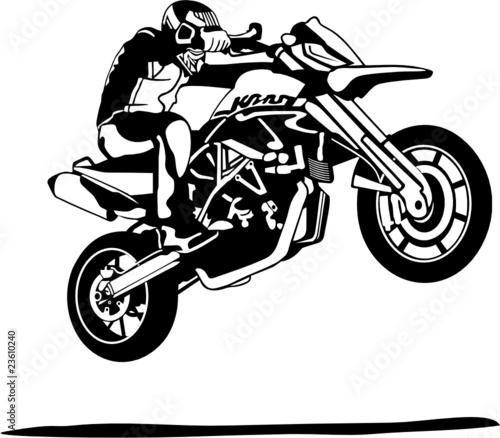 Quot Moto En Saut Quot Imagens E Vetores De Stock Royalty Free No