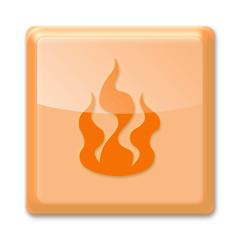 Flame button