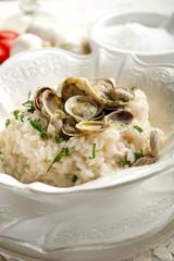 clam risotto - risotto alle vongole