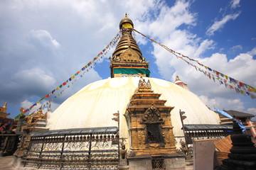 Stupa in Swayambhunath