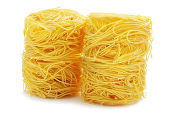 Vermicelli pasta nests