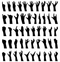 Female fifty hands