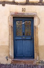 Blaue Tür - Nummer 30