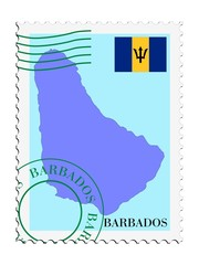 mail to/from Barbados