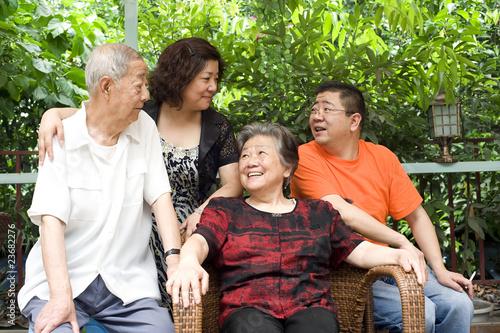 senior citizens family role