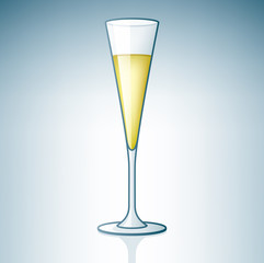 Champaign / Sparkling Wine Glass