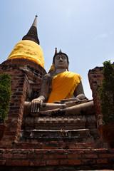 Big Buddha at Ayuthaya